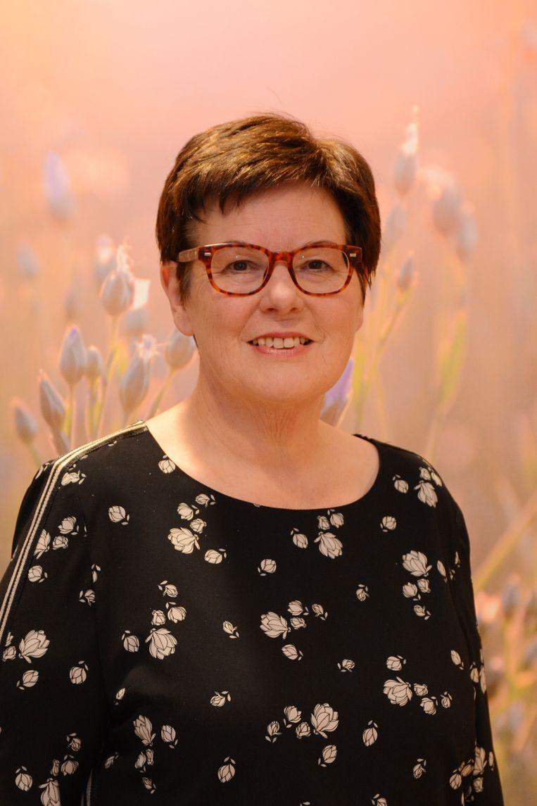 Burgemeester Carine Dewaele van Lendelede.
