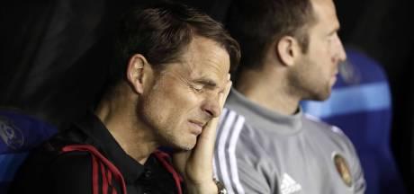 Frank de Boer: drie keer verlies in eerste wedstrijd