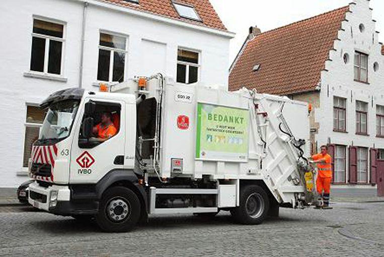 vuilniswagens Brugge ivbo