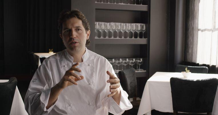 Ben Shewry van restaurant Attica in Melbourne. Beeld Netflix