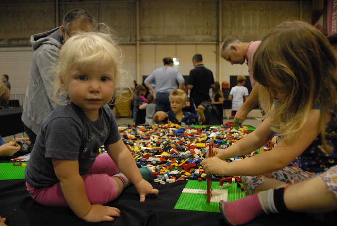Het Legofestijn in de Brabanthallen.
