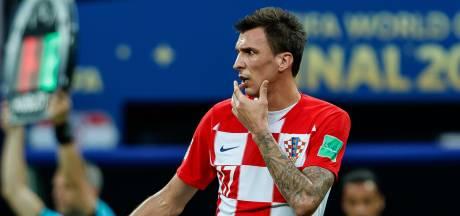 Trotse Mandzukic stopt als international Kroatië