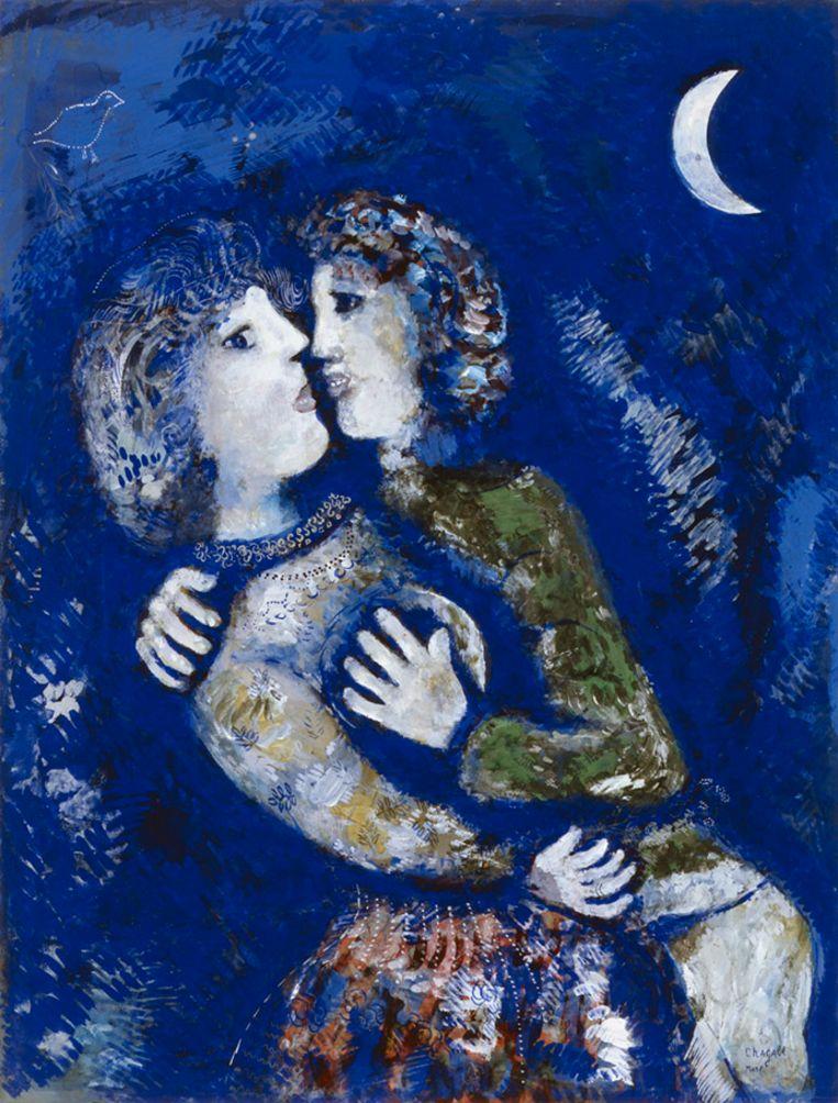 Verliefd paar van Chagall.  Beeld Pictoright Amsterdam