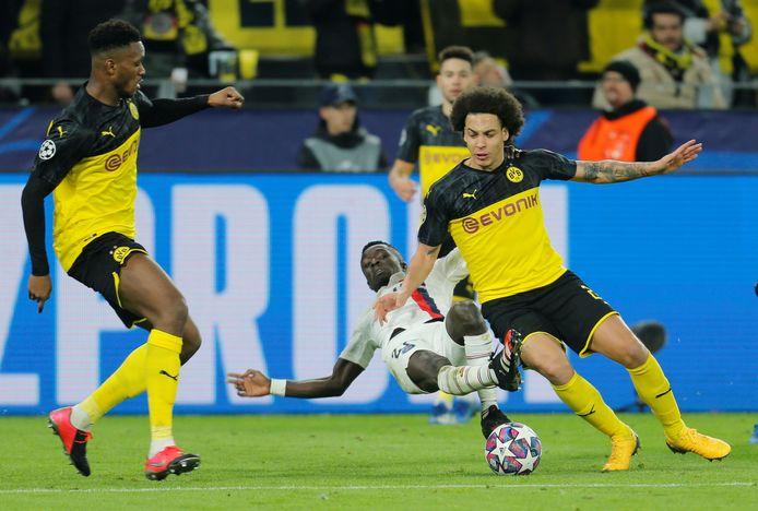 Axel Witsel a régné sur l'entejeu dans le duel entre le Borussia et le PSG.
