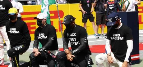 Hamilton: 'Bij Ferrari werken duizenden mensen, maar ze zeggen geen woord over racisme'