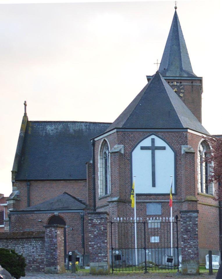 De kerk van Pollare.