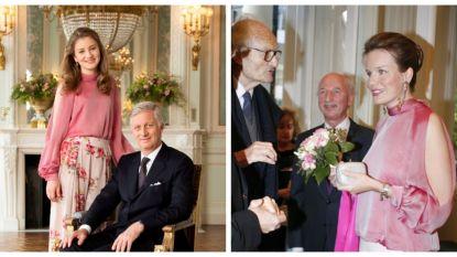 Kroonprinses Elisabeth ging voor fotoshoot snuisteren in de kleerkast van koningin Mathilde
