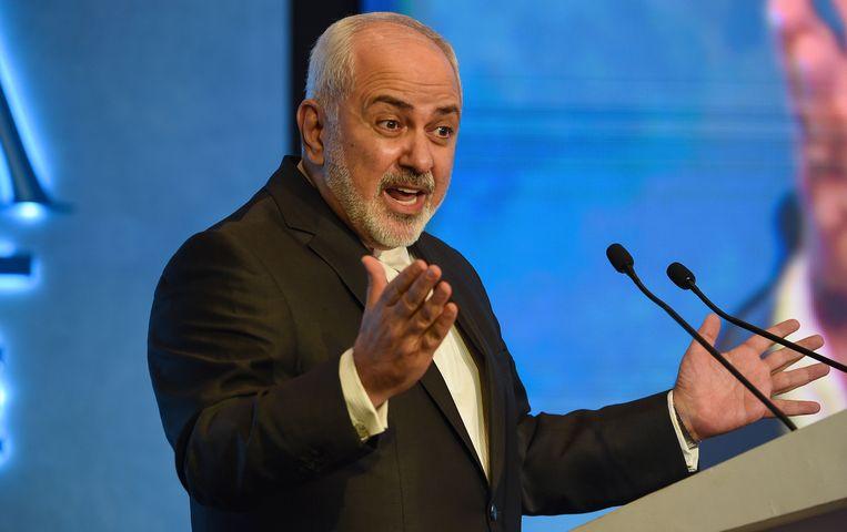 Iraans minister van Buitenlandse Zaken Mohammad Javad Zarif