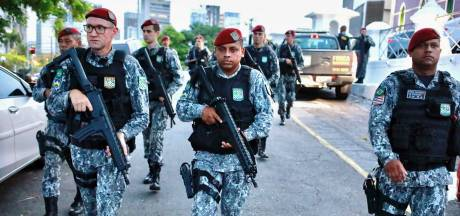 Braziliaanse politie muit, vijf keer zoveel moorden