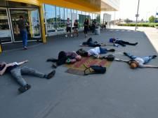 Demonstratie in Duiven om aandacht voor klimaatverandering te vragen
