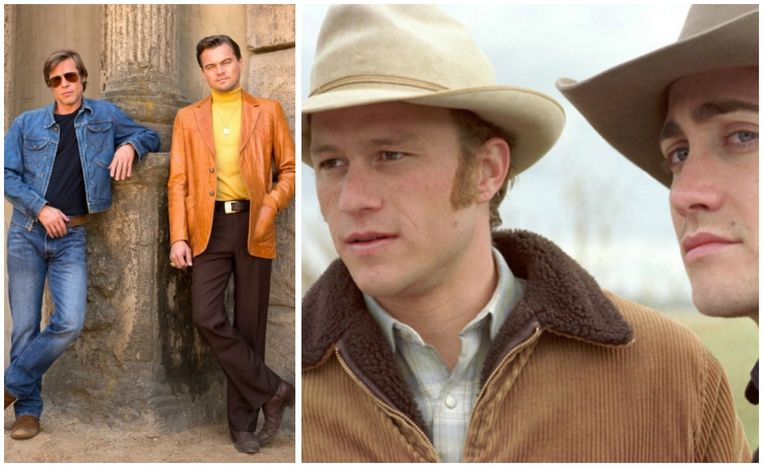 Brad Pitt en Leonardo Di Caprio hadden in 'Brokeback Mountain' kunnen spelen.