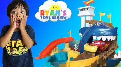 Ryan (7) verdient 22 miljoen dollar per jaar door speelgoed te testen en nu is hij de best verdienende YouTube-ster