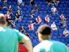 Supporters blijven welkom in Rotterdamse stadions, Aboutaleb denkt wél na over maximumaantal