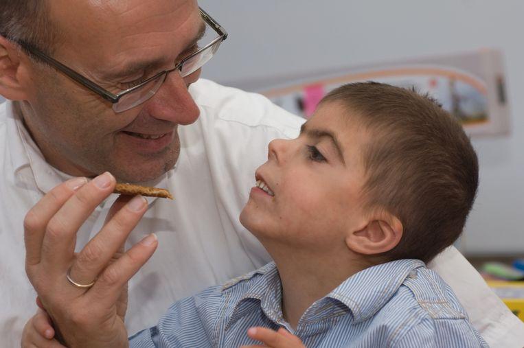 Rai met zijn vader Gerritjan. Beeld Familie Koekkoek