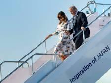 Japan probeert Trump te paaien met potje golf en sumowedstrijd