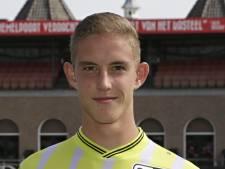Rijk Janse debuteert op training bij A-selectie Sparta