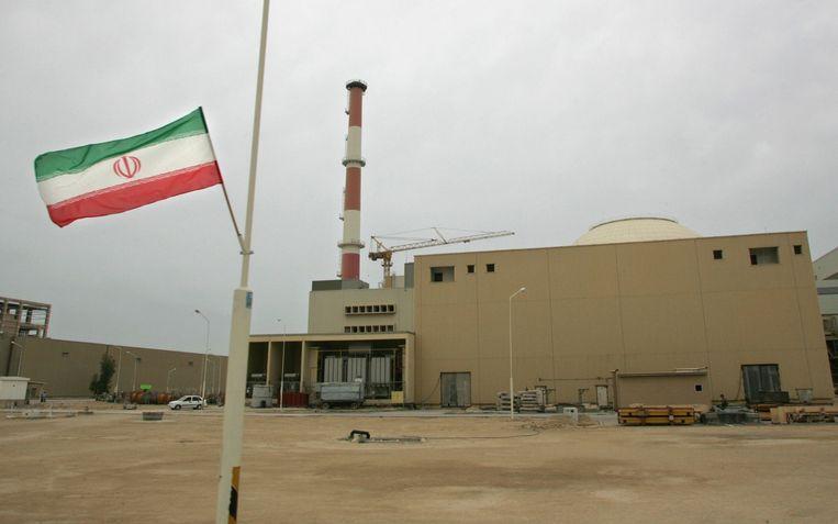De kerncentrale in de Iraanse havenstad Bushehr. (Foto uit 2007)