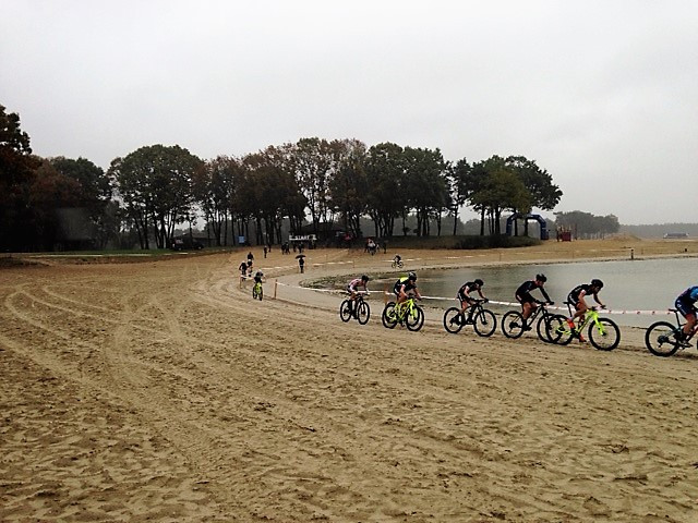 De strandrace in Eersel.