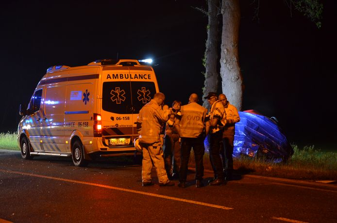 Het dodelijke ongeluk vond plaats op de Nettelhorsterweg tussen Lochem en Borculo.