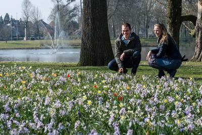 Lente krijgt smoel in Breda: 'Dit maakt de mensen gelukkig'