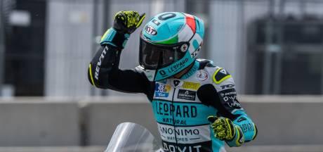 Dalla Porta, vainqueur du Grand Prix d'Allemagne, prend la tête du championnat Moto3