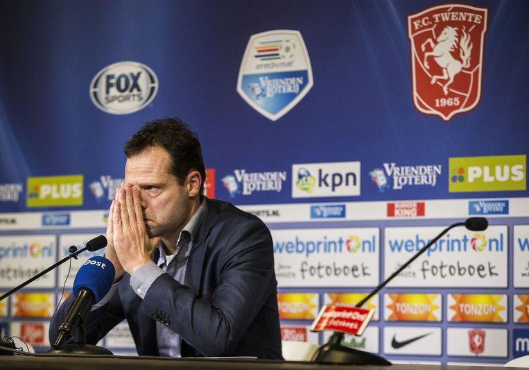 Directeur Gerald van den Belt, tijdens een persconferentie in november 2015. Beeld anp