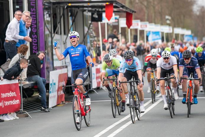 De finish van de laatst verreden ZLM Tour.