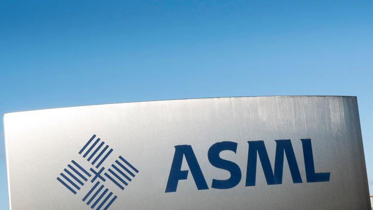 ASML dikte 5,5 procent aan bij de hoofdfondsen Beeld ANP