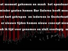 Bar Salerno in Oosterhout gaat ook dicht