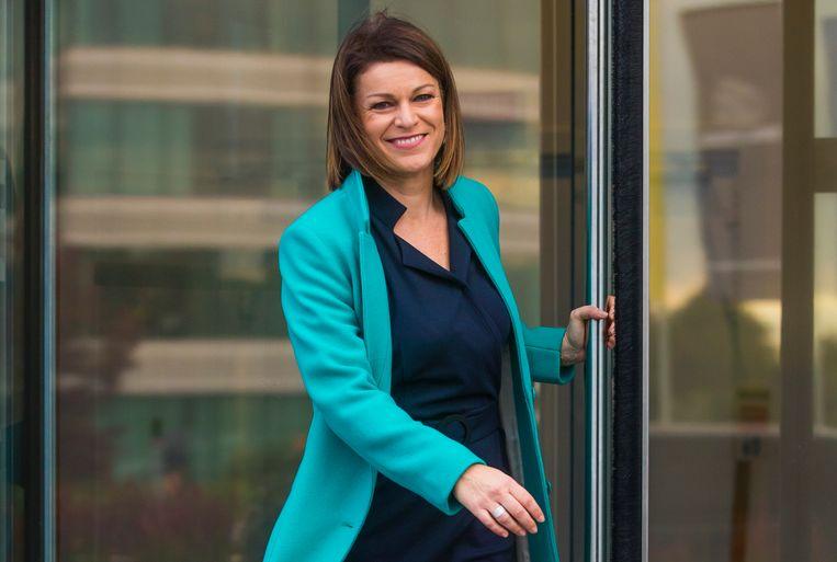 Jill Peeters (45), Klimaatexperte, ex-weervrouw en oprichter van 'Climate without borders', een wereldwijd klimaatplatform voor weermannen en weervrouwen.