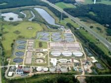 UV-lampen moeten legionella in rioolwaterzuivering Tilburg doden
