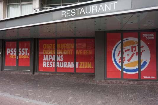 De Burger King aan het Piusplein.