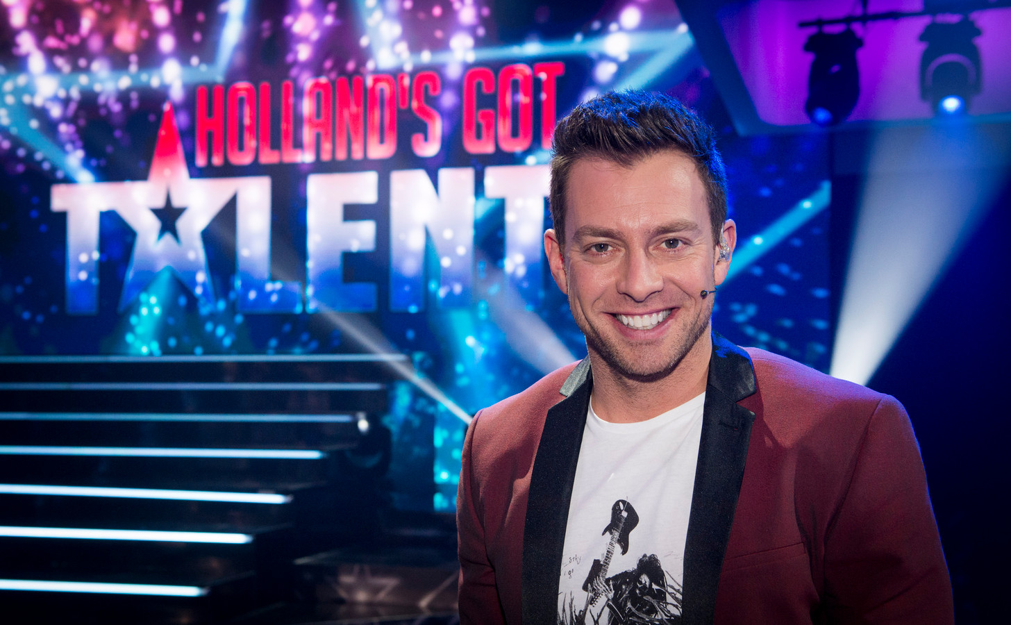 Foto ter illustratie: Dan Karaty danschoreograaf en jurylid van Holland's Got Talent.
