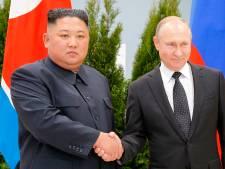 Kim Jong-un en Poetin kijken tevreden terug op top