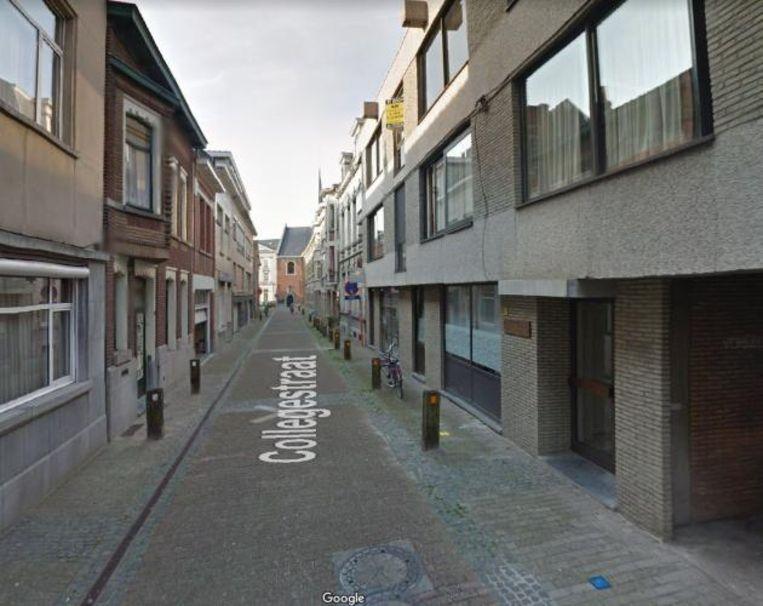 De Collegestraat in Sint-Niklaas.