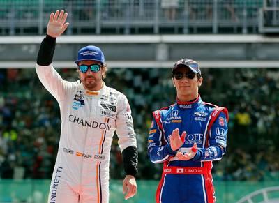 Fernando Alonso verbaast zichzelf in Indy 500