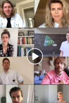 Luchtig nieuws in coronatijd: videoboodschappen uit heel de regio en babyfoons voor ziekenhuis Winterswijk
