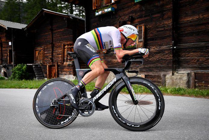 Wereldkampioen tijdrijden Rohan Dennis.