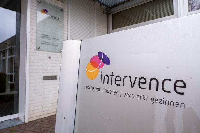 Ingang van het kantoor van Intervence in Middelburg.
