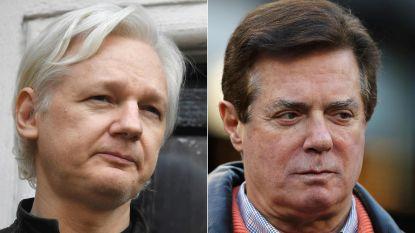Ex-campagneleider Trump ontkent geheime ontmoetingen met Julian Assange