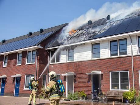 Oorzaak brand zonnepanelen Vinkeveen blijft voorlopig een raadsel
