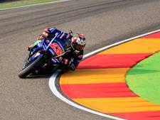 Viñales pakt poleposition, van beenbreuk herstelde Rossi derde