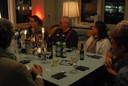 Deelnemers aan de Dag van de Dialoog op de locatie Mariapaviljoen in Den Bosch