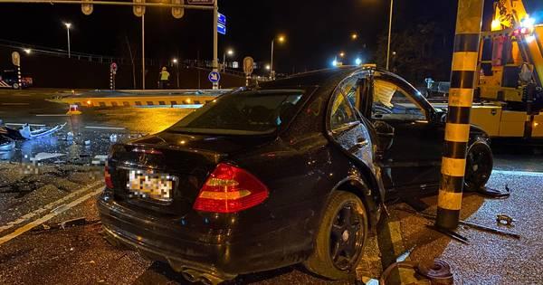 Door rood licht: gewonde bij aanrijding op kruising in Harderwijk.