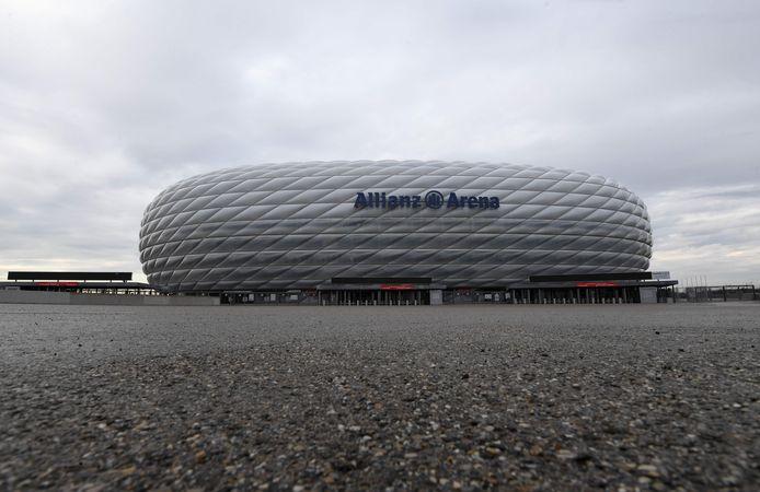 De Allianz Arena van Bayern München.