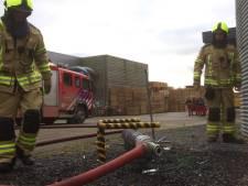 Noodkreet Sasse brandweer werkt