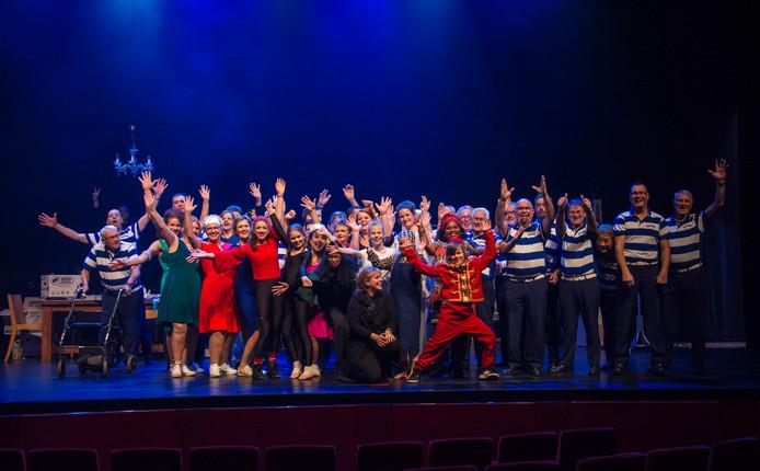 Alle deelnemers van Show Apeldoorn in 2018.