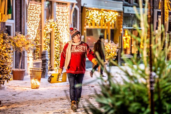 Jumbo Brengt Kerstsfeer In Binnenstad Oudewater Woerden Adnl