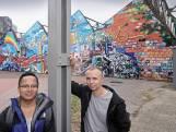 Makers zijn juist blij dat graffitiwand ein-de-lijk uit Oss verdwijnt