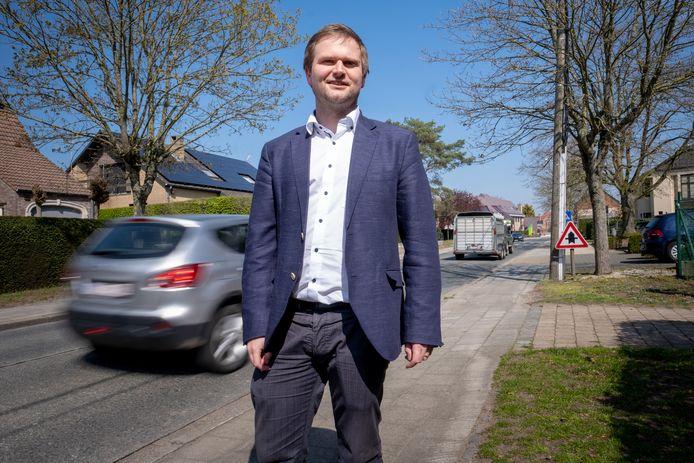Schepen van Mobiliteit Bart Vanmarcke